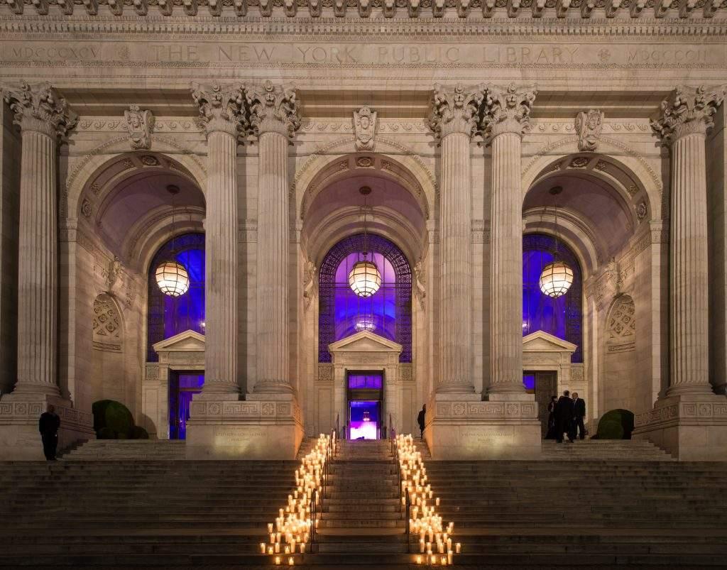 Wedding At New York Public Library City