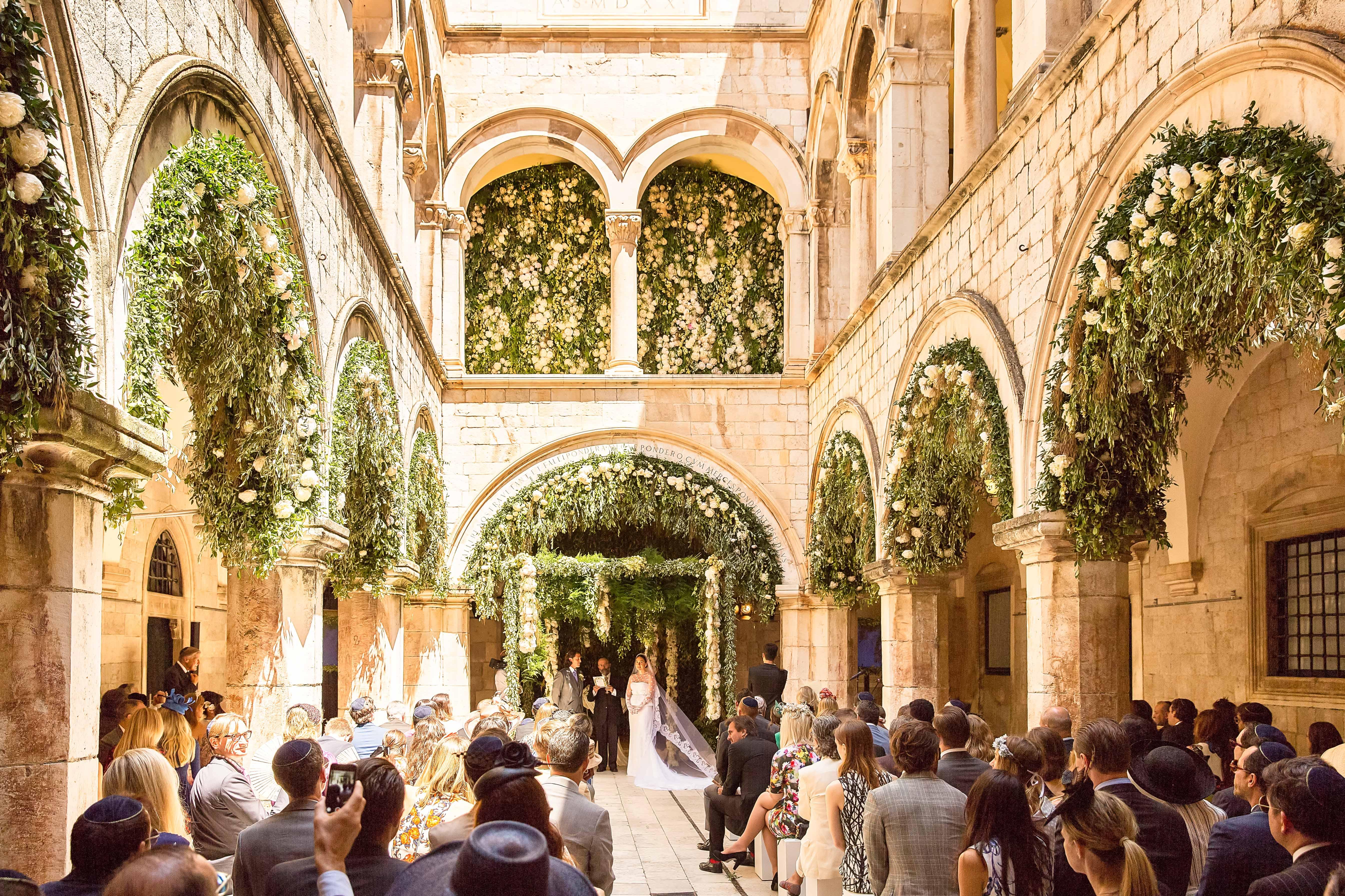 Marcy Blum Wedding in Dubrovnik, Croatia