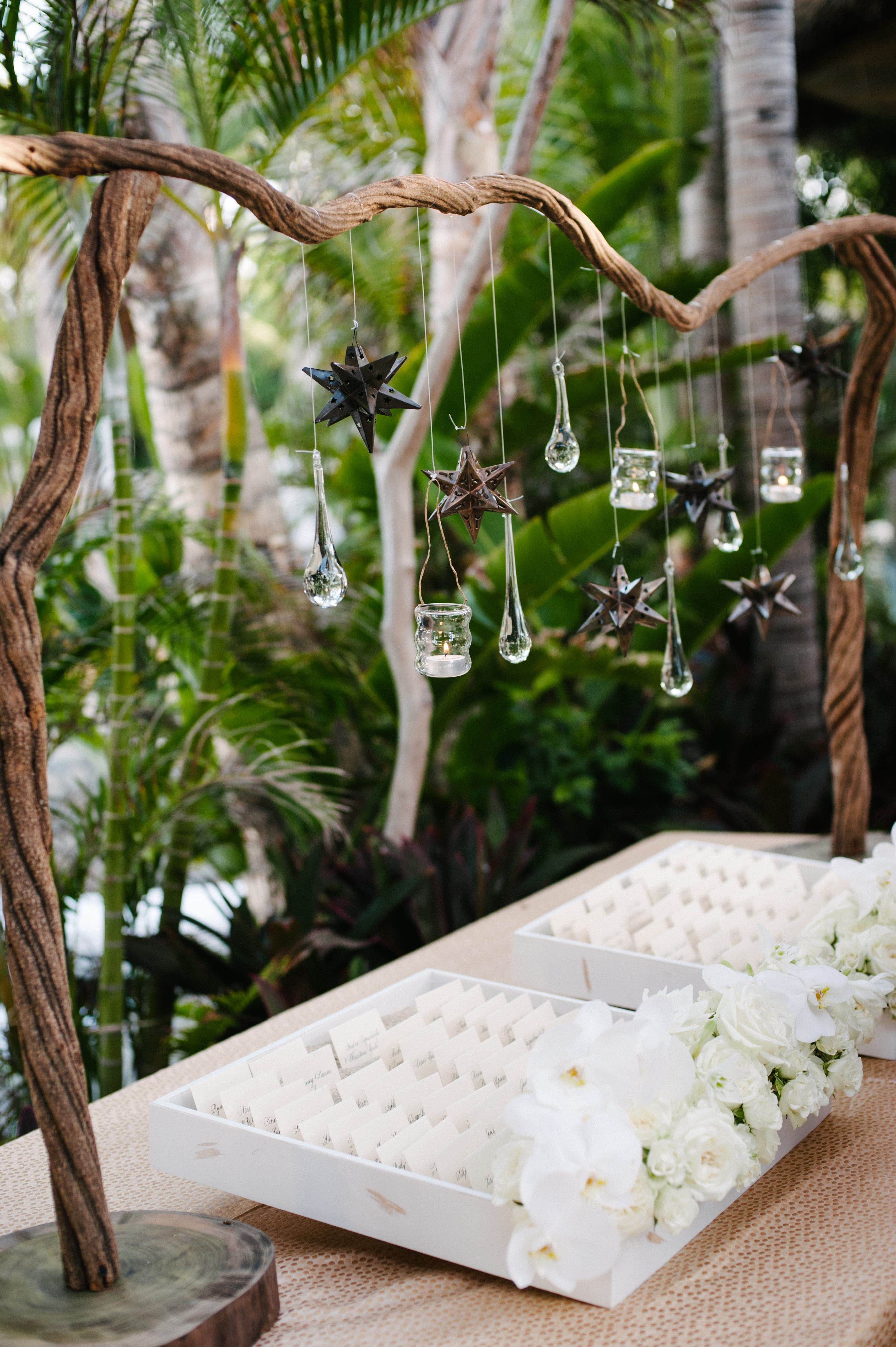 Los Cabos Escort Card Idea One and Only Palmilla