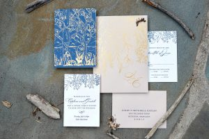 invitations for camp wedding by Ceci New York