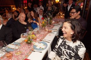 Guests at this 40th surprise birthday party at Beatrice Inn in West Village | Photo by Darren Ornitz