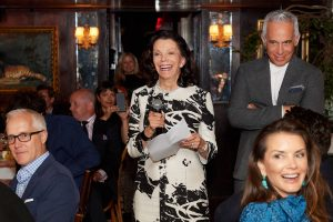 Speech at this 40th surprise birthday party at Beatrice Inn in West Village | Photo by Darren Ornitz