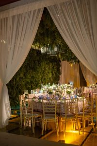 Reception at this Aman Sveti Stefan Montenegro destination wedding weekend | Photo by Allan Zepeda