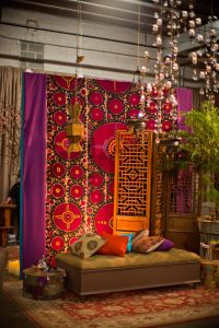 Souk-inspired decor at this Washington DC bat mitzvah | Photo by Luis Zepeda