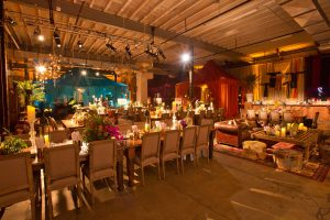 Table decor at this food festival and souk-inspired bat mitzvah in DC   Photo by Luis Zepeda