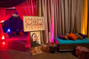 Young woman of honor at this food festival and souk-inspired bat mitzvah in DC | Photo by Luis Zepeda