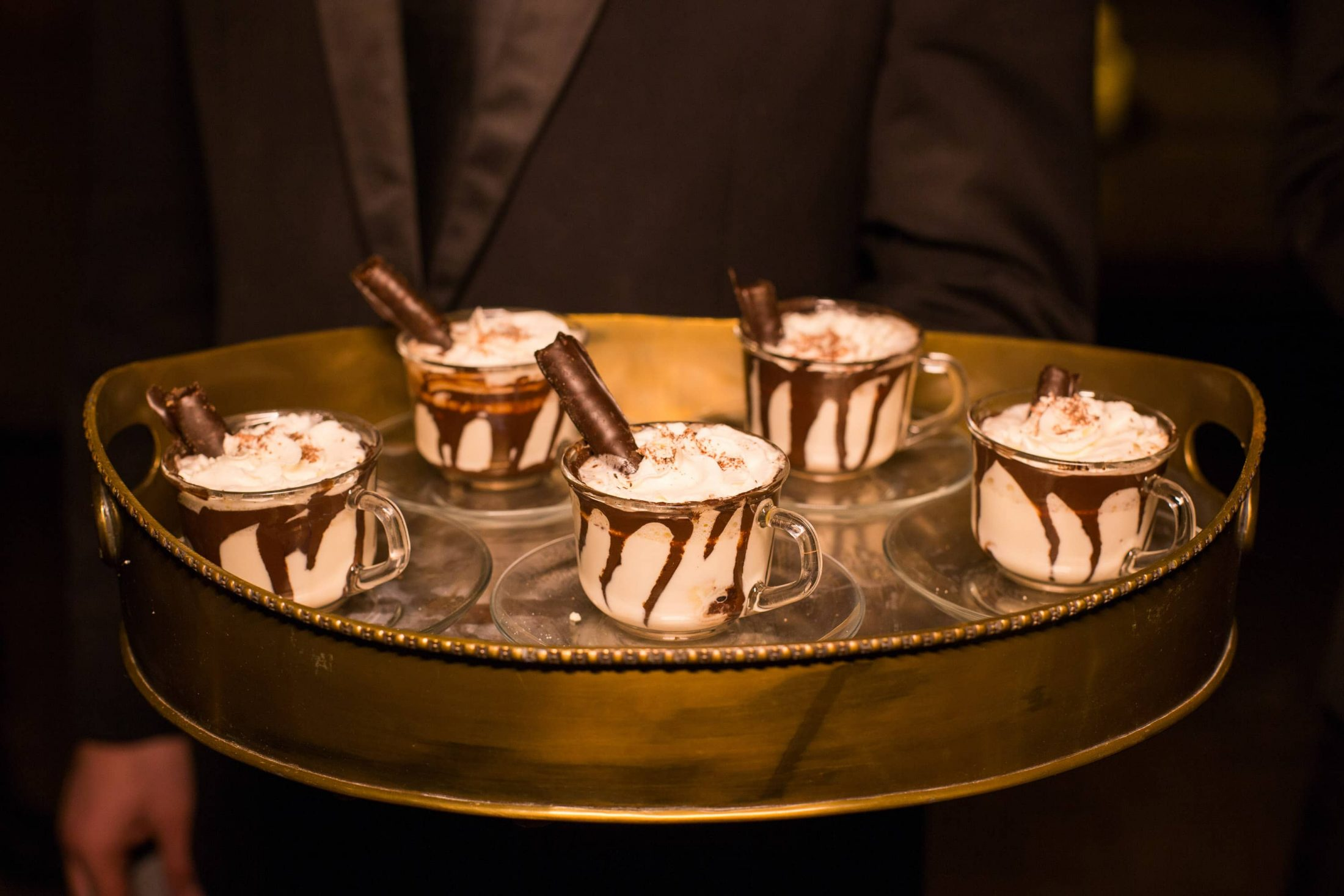 Hot fudge sundae server at this food festival and souk-inspired bat mitzvah in DC | Photo by Luis Zepeda