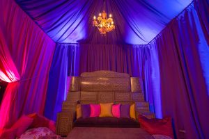 Arabian-inspired decor at this food festival and souk-inspired bat mitzvah in DC | Photo by Luis Zepeda