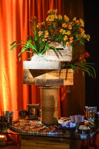 Sushi station at this food festival and souk-inspired bat mitzvah in DC | Photo by Luis Zepeda