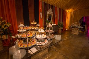 Dessert table at this food festival and souk-inspired bat mitzvah in DC | Photo by Luis Zepeda