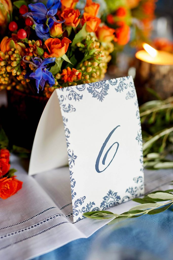 Welcome party cards at this camp-themed wedding weekend at Cedar Lakes Estate in Upstate NY, USA | Photo by Christian Oth Studios
