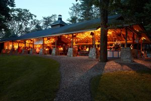 Welcome party at this camp-themed wedding weekend at Cedar Lakes Estate in Upstate NY, USA | Photo by Christian Oth Studios