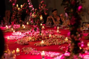 Barchannal shabbat dinner party at this Dubrovnik Wedding in Croatia | Photo by Robert Fairer