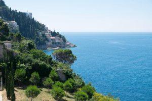Lokrum Island at this Dubrovnik wedding in Croatia | Photo by Robert Fairer