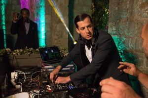 Evening party DJ at Fort Lovrijenac at this Dubrovnik wedding in Croatia | Photo by Robert Fairer