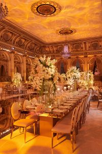 Tablescape at this classic autumn wedding at The Plaza in NYC | Photo by Christian Oth Studio