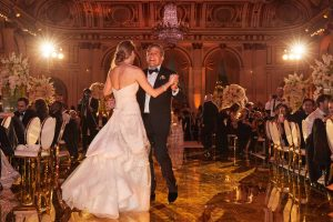 Father daughter dance at this classic autumn wedding at The Plaza in NYC | Photo by Christian Oth Studio