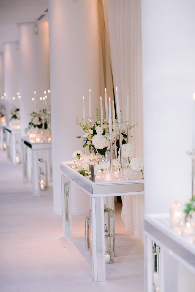 Floral and table decor at Esma Sultan at this Istanbul wedding weekend at Four Seasons Bosphorus | Photo by Allan Zepeda