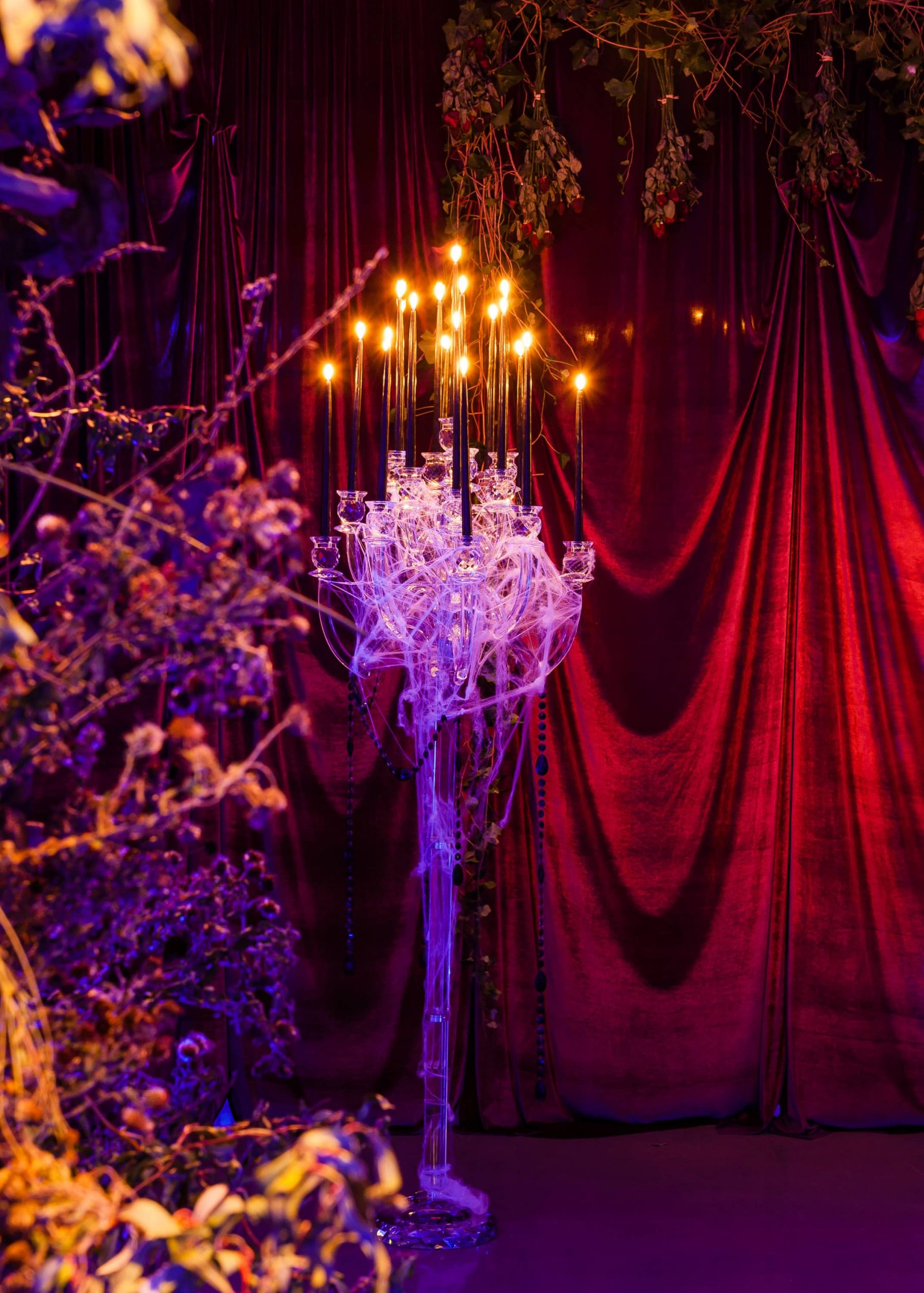 Spooky decor at this epic halloween party at The Standard in NYC | Photo by Gruber Photographers