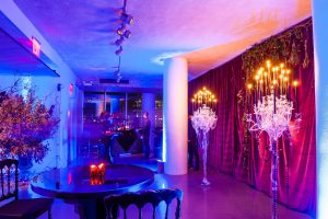 Spooky decor at this epic halloween party at The Standard in NYC   Photo by Gruber Photographers