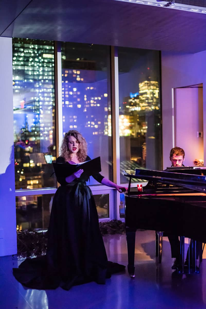 Entertainment at this epic halloween party at The Standard in NYC | Photo by Gruber Photographers