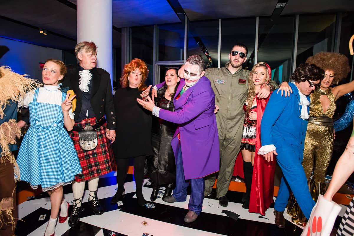 Dancing at a haunted Studio 54 at this epic halloween party at The Standard in NYC | Photo by Gruber Photographers
