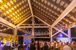 Dancing during reception at this Hamptons wedding weekend held at The Parrish Museum | Photo by Roey Yohai Studio