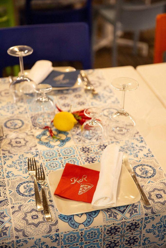 Evening pizza party at this Amalfi Coast wedding weekend held Lo Scoglio | Photo by Allan Zepeda