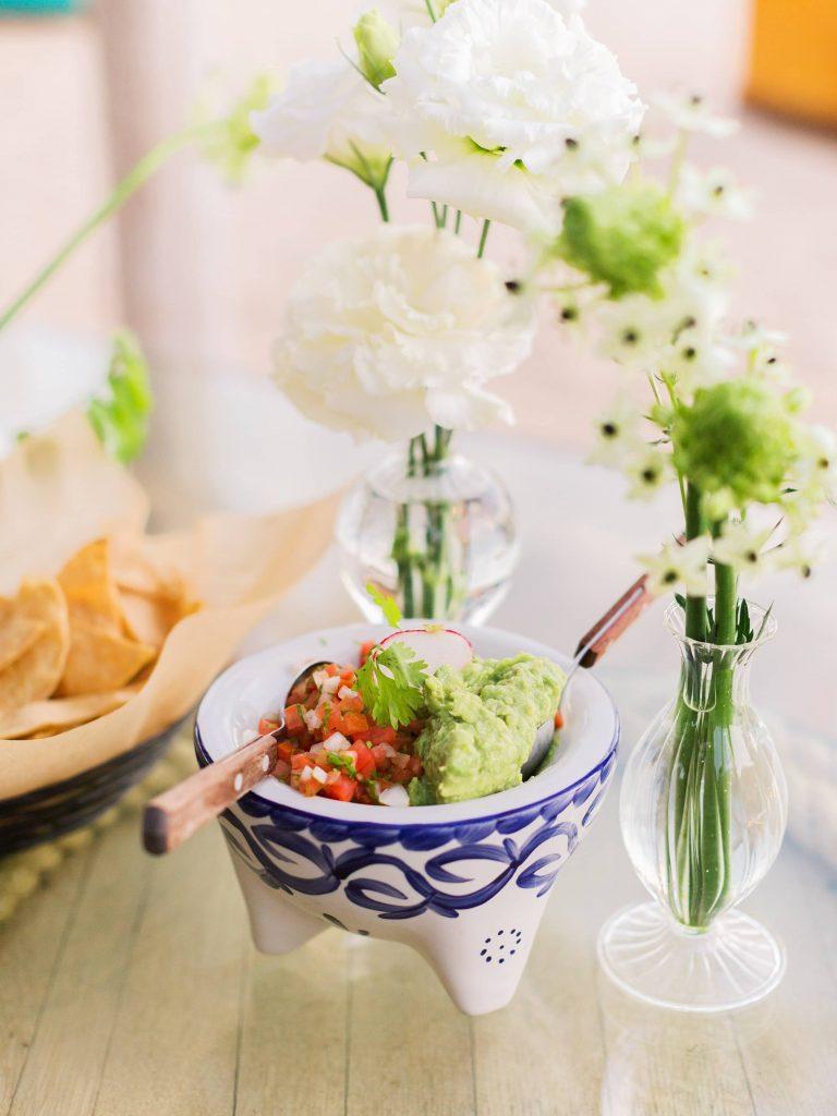 Food at this Los Cabos wedding in Mexico | Photo by Allan Zepeda