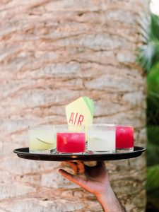 Cocktails at this Los Cabos wedding in Mexico | Photo by Allan Zepeda