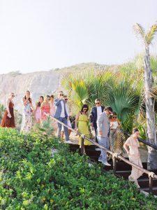 Guests at this Los Cabos wedding in Mexico   Photo by Allan Zepeda