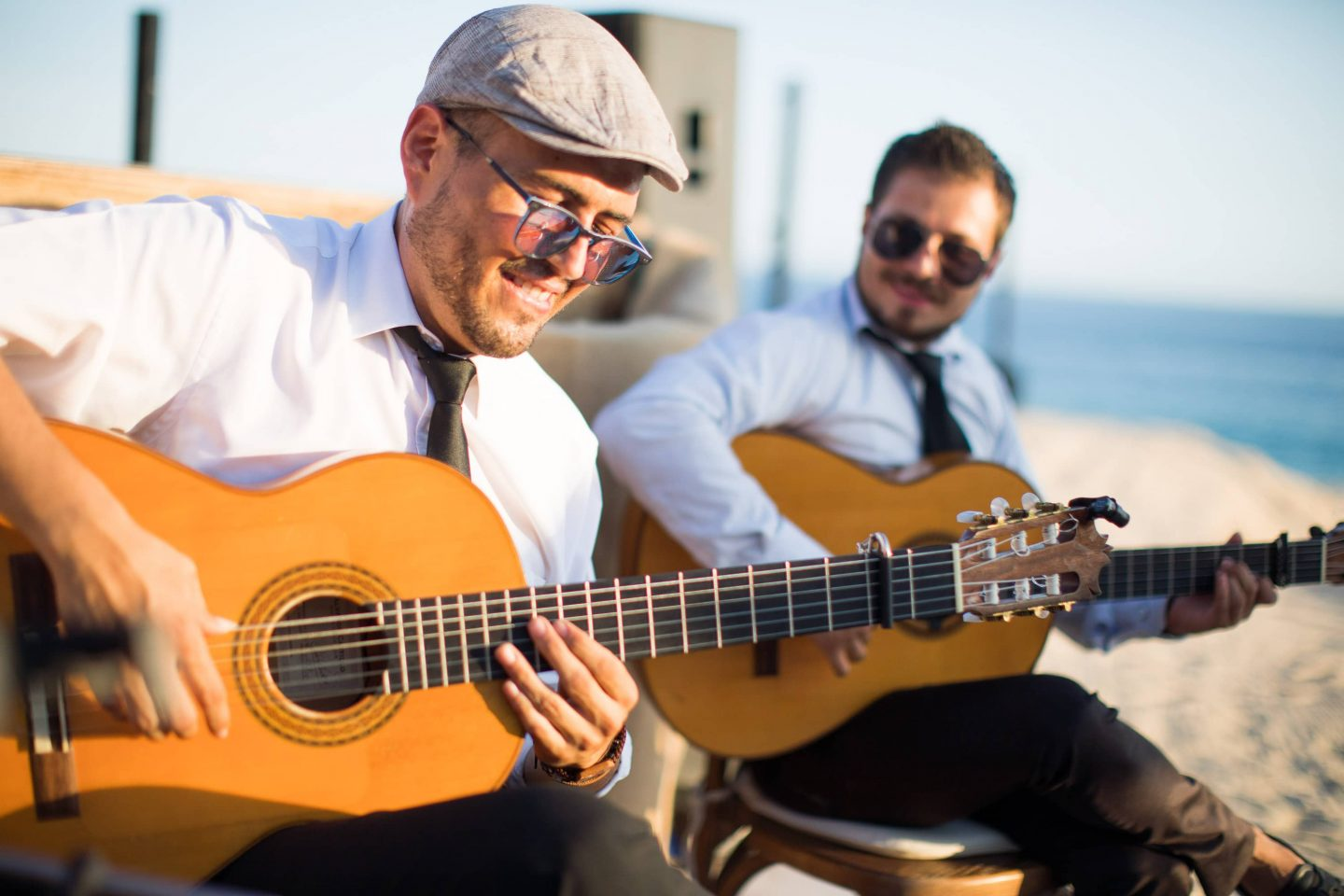 Entertainment at this Los Cabos wedding in Mexico | Photo by Allan Zepeda