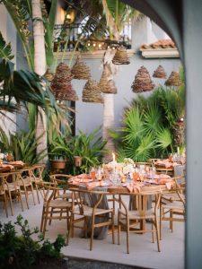 Romantic outdoor reception at this Los Cabos wedding in Mexico | Photo by Allan Zepeda