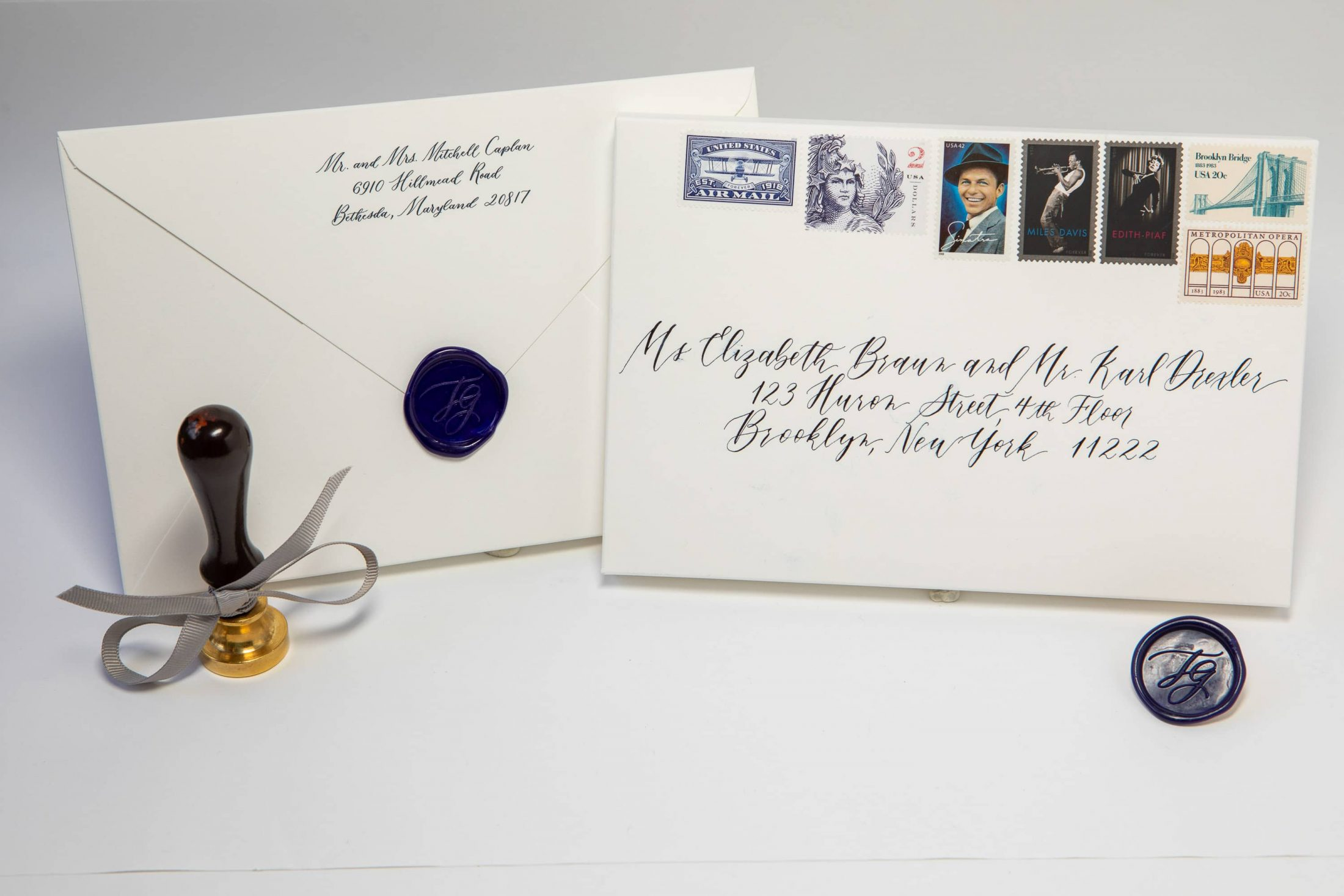 Wedding stationery at this NYE wedding in New York City | Photo by Gruber Photo