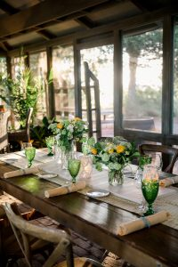 BBQ welcome party at this Sea Island wedding weekend in Georgia, USA | Photo by Liz Banfield