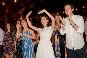80s Party at this Sea Island wedding weekend in Georgia, USA | Photo by Liz Banfield