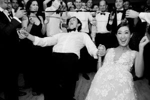 Reception dancing at this Sea Island wedding weekend in Georgia, USA | Photo by Liz Banfield